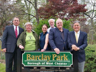 BGPA Board at Park sign 4.22.16