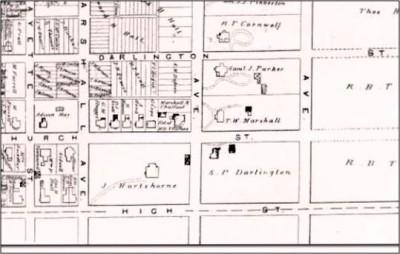 1883 Tax Map